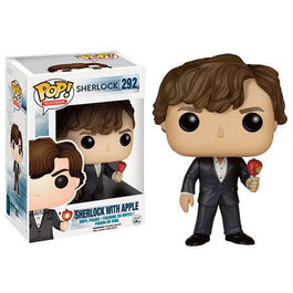 FIGURA POP SHERLOCK - SHERLOCK WITH APPLE 9 CM