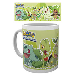 TAZA POKEMON GRASS PARTNERS