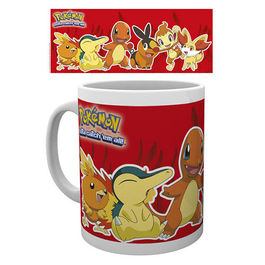 TAZA POKEMON FIRE PARTNERS