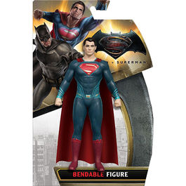 FIGURA DC COMICS MALEABLE BATMAN V SUPERMAN SUPERMAN 14 CM