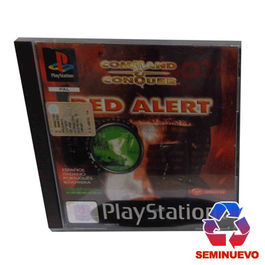 COMMAND AND CONQUER RED ALERT PS ONE (SEMINUEVO)