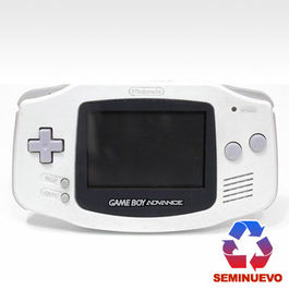 CONSOLA GAME BOY ADVANCE BLANCA (SEMINUEVA)