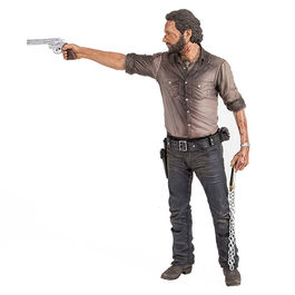 FIGURA THE WALKING DEAD DELUXE RICK GRIMES VIGILANTE EDITION 25 CM