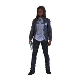 FIGURA THE WALKING DEAD TV VERSION SERIE 9 CONSTABLE MICHONNE 15 CM
