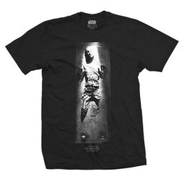 CAMISETA STAR WARS HAN SOLO IN CARBONITE
