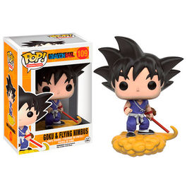 FIGURA POP DRAGON BALL Z GOKU EN NUBE KINGDOM 10 CM