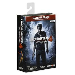 FIGURA UNCHARTED 4 ULTIMATE NATHAN DRAKE 18 CM