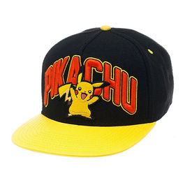 GORRA NINTENDO BEISBOL POKEMON PIKACHU BLACK YELLOW
