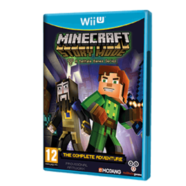 MINECRAFT STORY MODE THE COMPLETE ADVENTURE Wii U