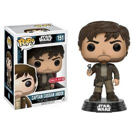 FIGURA POP STAR WARS ROGUE ONE CAPTAIN CASSIAN ANDOR 9 CM