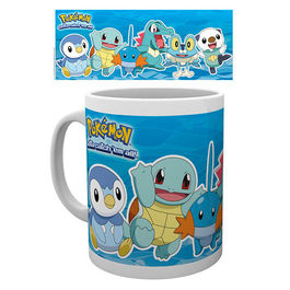 TAZA POKEMON WATER PARTNERS
