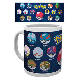 TAZA POKEMON POKEBALL VARIETIES