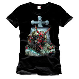 CAMISETA DEADPOOL TOMBSTONE