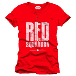 CAMISETA STAR WARS ROGUE ONE RED SQUADRON