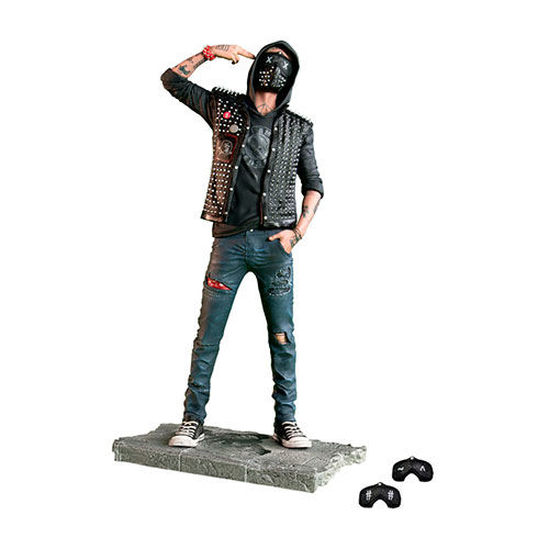 ESTATUA WATCH DOGS 2 UBICOLLECTIBLES THE WRENCH 24 CM