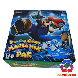 DANCING STAGE MARIO MIX PAK GAMECUBE (SEMINUEVO)