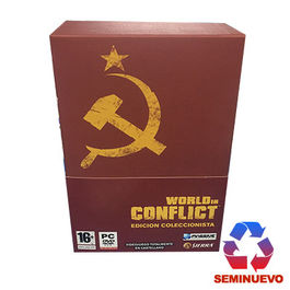 WORLD IN CONFLICT EDICION COLECCIONISTA PC (SEMINUEVA)