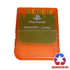 MEMORY CARD 1 MB SONY PLAYSTATION ROJA PSX