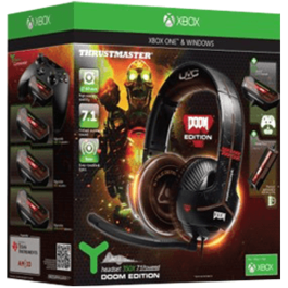AURICULARES HEADSET THRUSTMASTER Y-350X 7.1 DOOM EDITION XBOX ONE / PC