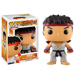 FIGURA POP STREET FIGHTER RYU 9  CM