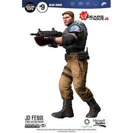 FIGURA GEARS OF WAR 4 COLOR TOPS JD FENIX 18 CM