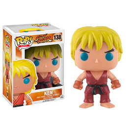 FIGURA POP STREET FIGHTER KEN 9  CM