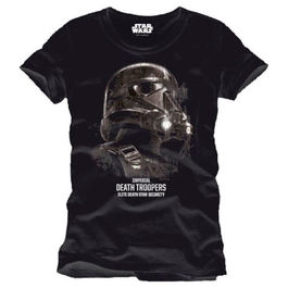 CAMISETA STAR WARS ROGUE ONE DEATH TROOPERS PROFILE
