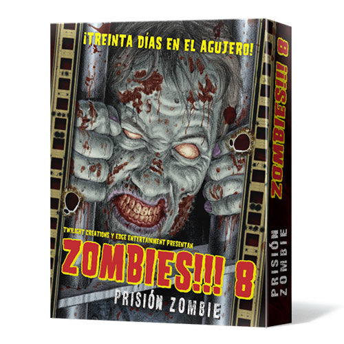 Juego De Mesa Zombies 8 Prision Zombie