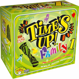 JUEGO DE CARTAS TIME´S UP FAMILY 1