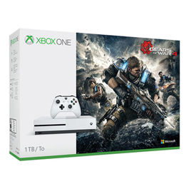 CONSOLA XBOX ONE S 1 TB BLANCA + GEARS OF WAR 4  XBOX ONE