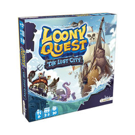 JUEGO DE MESA LOONY QUEST THE LOST CITY
