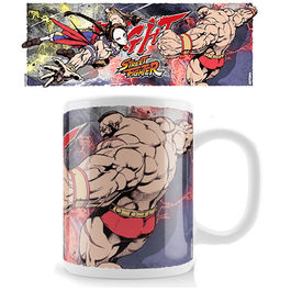 TAZA STREET FIGHTER VEGA VS ZANGIEF