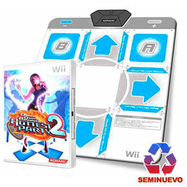 DANCE DANCE REVOLUTION HOTTESTPARTY 2 + ALFOMBRILLA Wii (SEMINUEVO)