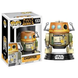 FIGURA POP STAR WARS REBELS CHOPPER 9 CM