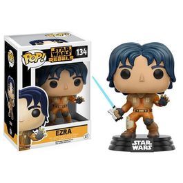 FIGURA POP STAR WARS REBELS EZRA 9 CM