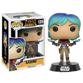 FIGURA POP STAR WARS REBELS SABINE 9 CM