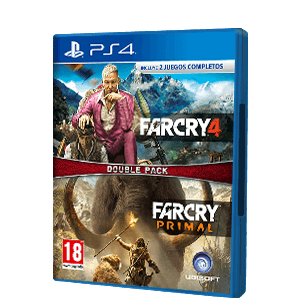 PACK FAR CRY 4 + FAR CRY PRIMAL PS4