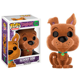 FIGURA POP SCOOBY-DOO (FLOCKED) 9 CM