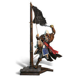 ESTATUA ASSASSINS CREED IV BLACK FLAG EDWARD KENWAY MASTER OF SEAS 45 CM