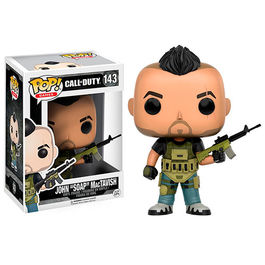 FIGURA POP CALL OF DUTY JOHN SOAP MACTAVISH 9 CM