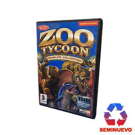 ZOO TYCOON COMPLETE COLLECTION PC (SEMINUEVO)