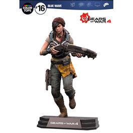 FIGURA GEARS OF WAR 4 COLOR TOPS KAIT DIAZ 18 CM