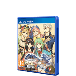 ATELIER SHALLIE PLUS ALCHEMISTS OF THE DUSK SEA PS VITA