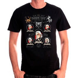 CAMISETA THE WITCHER SHAVE AND HAIRCUT