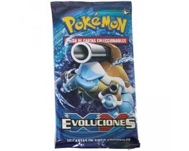 CARTAS POKEMON XY EVOLUCIONES SOBRE