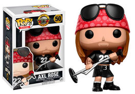 FIGURA POP GUNS N ROSES AXL ROSE 9 CM