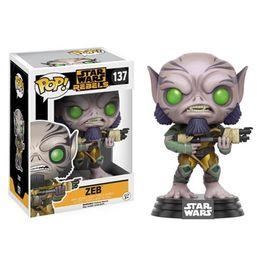 FIGURA POP STAR WARS REBELS ZEB 9 CM