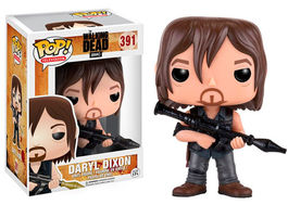 FIGURA POP WALKING DEAD DARYL DIXON ROCKET LAUNCHER 9 CM