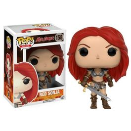 FIGURA POP RED SONJA - RED SONJA 9 CM