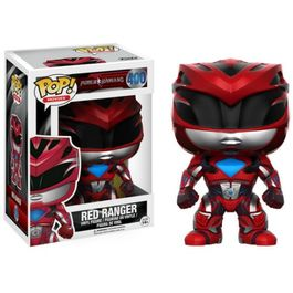FIGURA POP POWER RANGERS THE MOVIE RED RANGER 9 CM